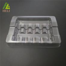 Klare Plastikampullen-Behälter