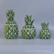 Hot Sale Pineapple Ceramic Diffuser Bottles with Reeds