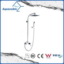 Chromed Single Handle Brass Shower Faucet with Hand Shower (AF6015-7A)