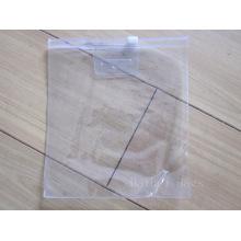 Clear PVC Ziplock Packaging Bag (hbpv-60)