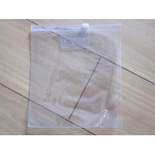 Прозрачный ПВХ пластиковый пакет Ziplock (hbpv-60)