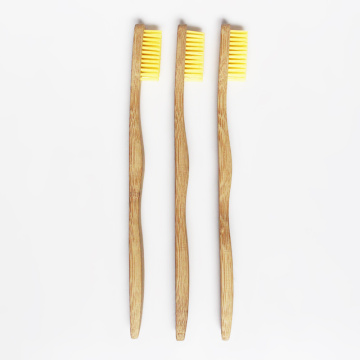 Brosse à dents en bambou adulte dégradable