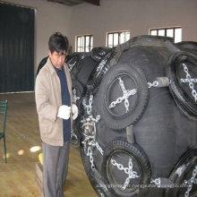 défenses gonflables gonflables de yokohama en caoutchouc naturel utilisées pour le bateau ou le dock