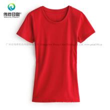 100% Cotton Round Neck Women Clothes