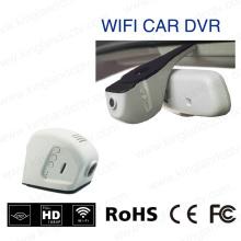 1080P 170 grados de gran angular HD escondido WiFi coche DVR