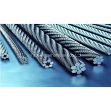 7 * 19 Cuerda de alambre de acero inoxidable