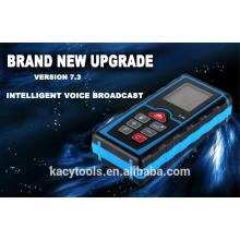 Laser Distance Meter with intelligent voice broadcast
