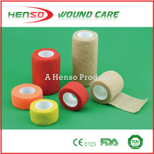HENSO Nonwoven Colored Cohesive Bandage