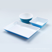 airline plastic tableware(cup,plate,bowl)