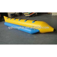 Barco de banana inflável de borracha PVC para venda