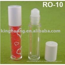 Rolo de óleo de lábios em garrafa 10ml