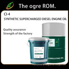 Óleo de motor diesel superalimentado sintético CI-4