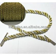 3 fios torcidos Glitter 7 MM * 30 CM Handle Corda