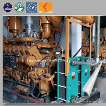 Gasificador de gas de madera de la biomasa 10kw-5MW Aplicado el generador de la biomasa de CHP termoeléctrico
