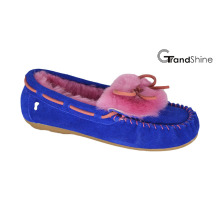 Women′s Casual Flat Moccasions Loafers