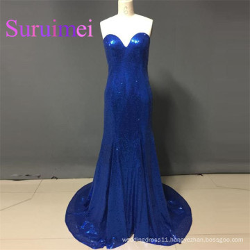 Free Shipping Prom Dresses vestidos de noiva Sequins Sweetheart Evening Gowns New Arrivals