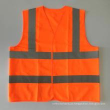 EN20471 & ANSI Certified colete de segurança de alta visibilidade reflexiva