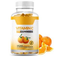 OEM 180g Natural Vitamin C Gummies Bear Contains vitamin c gummies with zinc for kids