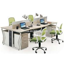 4 people office desk