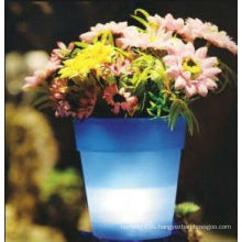 China Manufactuer especial diseño decorativo LED florero