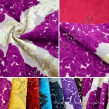100% tissu d'ameublement de jacquard de polaire de Poyester pour le textile à la maison