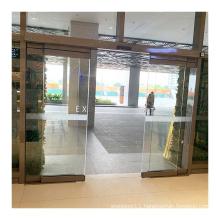 Deper D9 supermarket entrance commercial sensor glass automatic sliding door machine