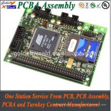 pcba entreprises Porte d'accès contrôle carte PCB carte PCB conseil d'assemblage
