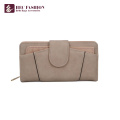 HEC Manufacturer Pvc Material Wallet Retro Style Ladies Hand Purses