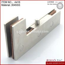 Raccord de porte en verre en acier inoxydable 304 en Chine