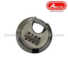 Disco de acero inoxidable combinación de candado 204
