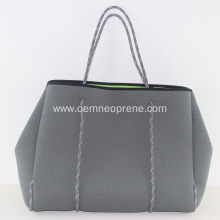 Factory Large Capacity Durable Neoprene Beach Handbags