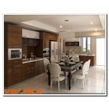 Entreprise de gros chinoise: meuble de cuisine stratifié / contreplaqué laminé, meuble de cabinet de cuisine / papier stratifié pour cuisine