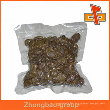High barrier nylon LLDPE plastic vacuum packing bag for dried seafood