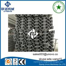 Storage racking steel sigma section