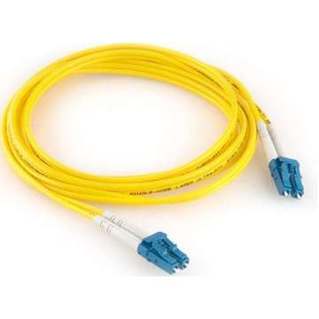 LC-LC monomodo OS2 9/125 duplex patch cable