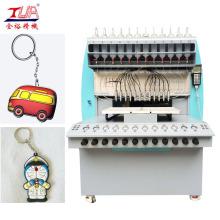 Processo de fabricação de chaveiros de plástico macio