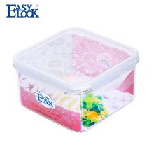 Barato sorvete cookies caixa de recipiente de plástico