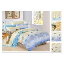 40*40s 133*72 reactive printing Purebest 100% tencel bed sheet set