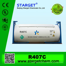mixed R407c gas on sale in ISO TANK