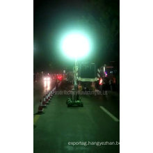 High-output Light Fixtures Generator Mobile Light Tower