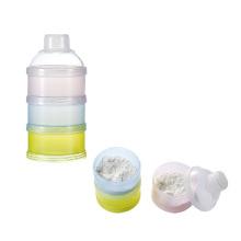Baby food box layer plastic milk container milk powder dispenser