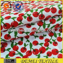 cheap wholesale tissu jacquard imprimé cerise