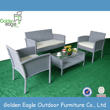 KD fashion Wicker Furniture Garden Sofa set