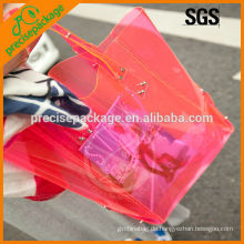Modische klare PVC wasserdichte Strandtasche zum Einkaufen