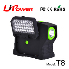 Automobile starting power truck battery 24v lithium battery jump starter portable car battery charger with air compressor