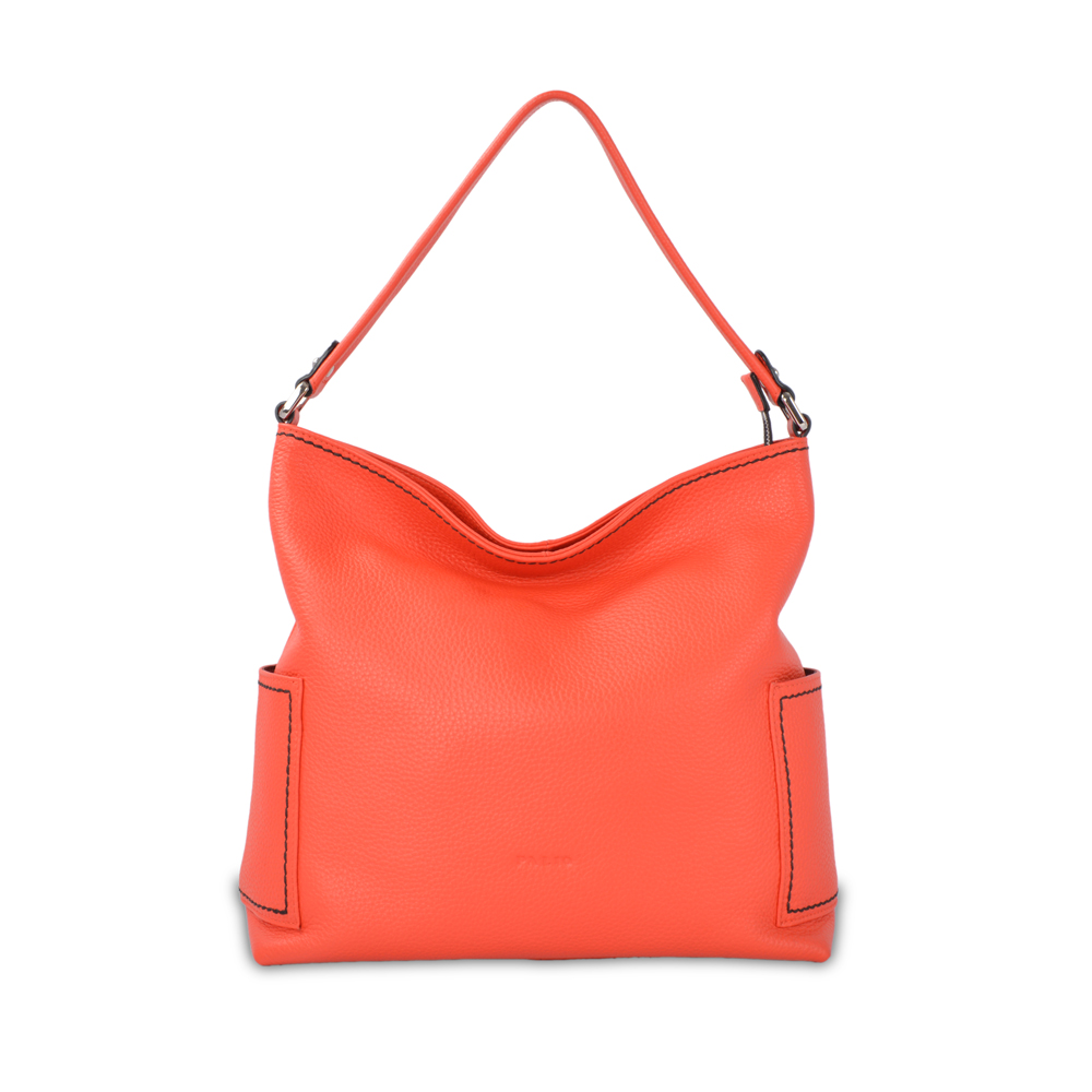 top grade classy quality synthetic leather hobo bag