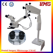 Equipo médico del dentista Microscopio operativo dental