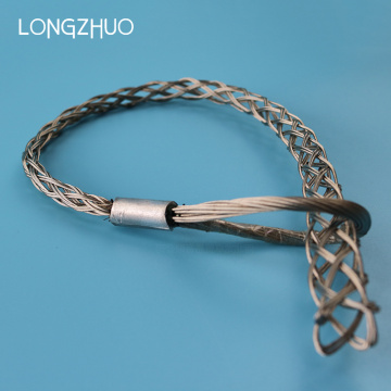 Single Eye Cable Sock Grip Wire Mesh Grip