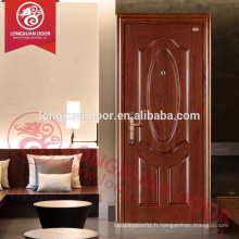 1-3 heures de panneaux de portes nominales (certification BS)