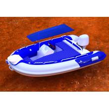 Barco de costela versátil de casco de fibra de vidro tão atraente com CE China